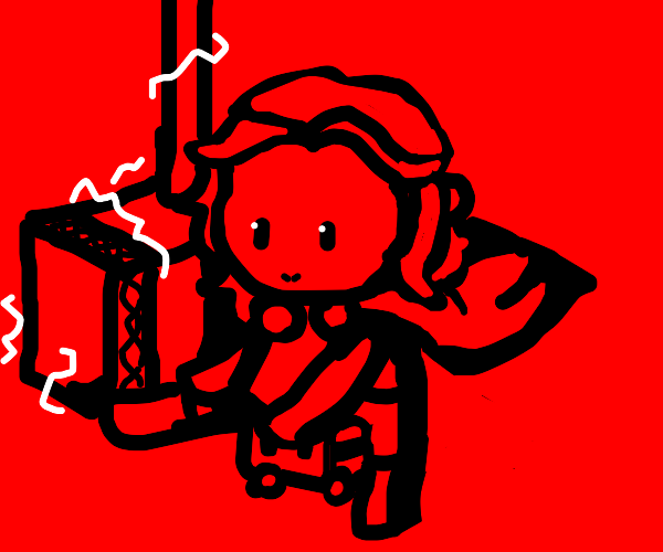 An thor playing in red