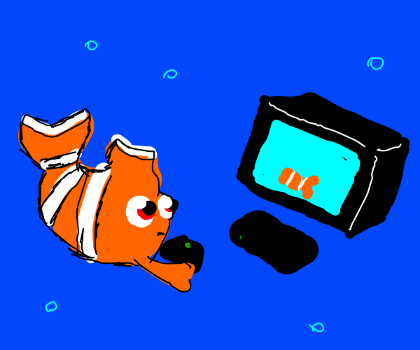 Nemo plays a game about himself