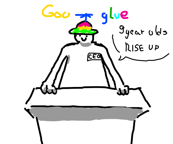 kid becomes CEO of googlue
