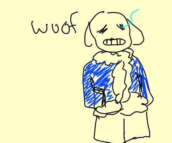 sans dog