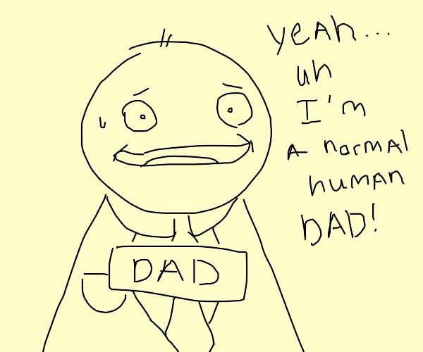 A regular human dad