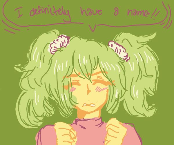 Anime girl definitely has a name