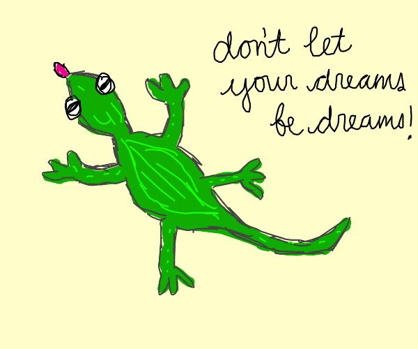 Motivational Lizard :'D