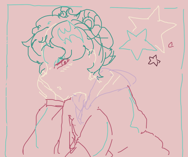 magical anime girl from with short hair