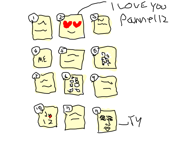 panel 12 is in love with panel 2