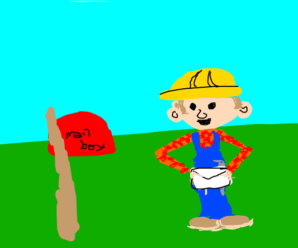 bob the builder has mail