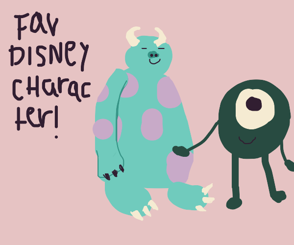 Favourite Disney character