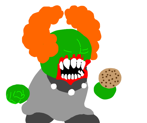 Tricky with a cookie