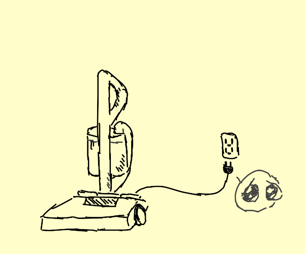 Vacuum cant reach plug