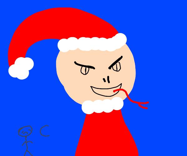 Santa is evil and makes people sad