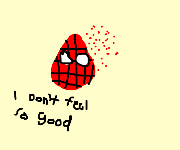 Mr Stark I dont feel so good I dont wanna go
