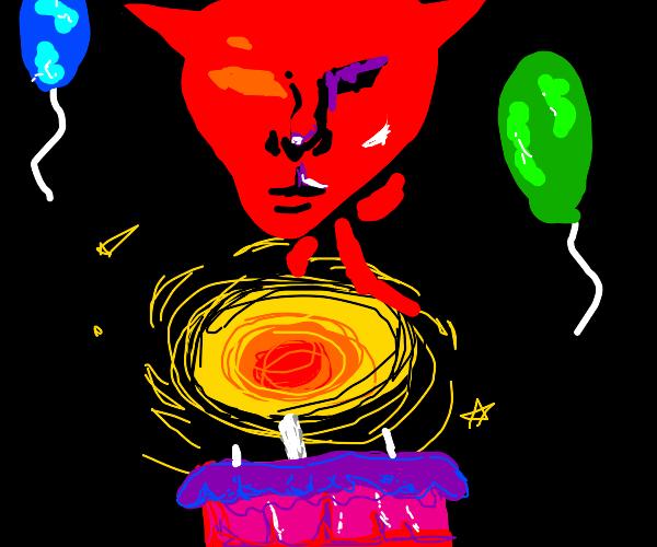 Birthday of the devil