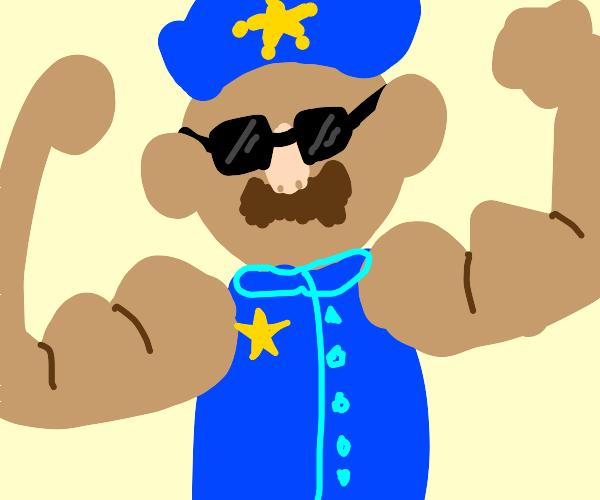 Jim Varney, Biceps Cop