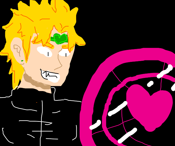 DIO with love shield