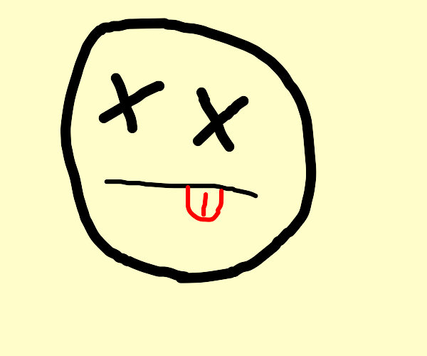 Dead face