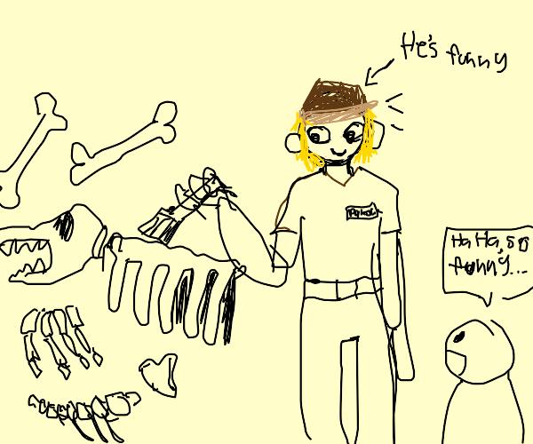 Funny Paleontologist