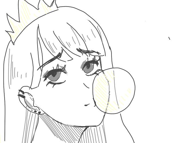 Hip little queen teen
