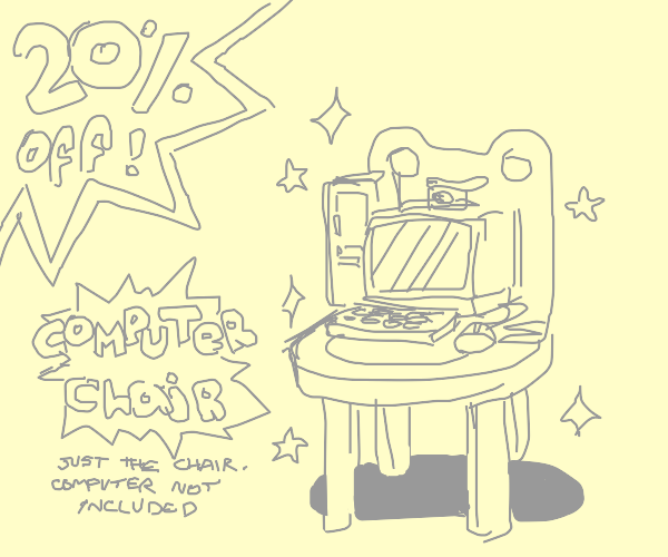 Computer Chair is 20 Percent off!
