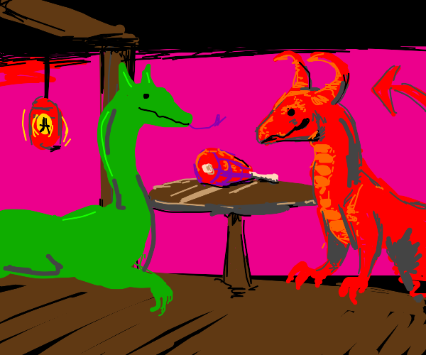 Dragons date night