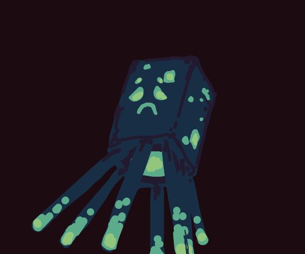 depressed glow squid