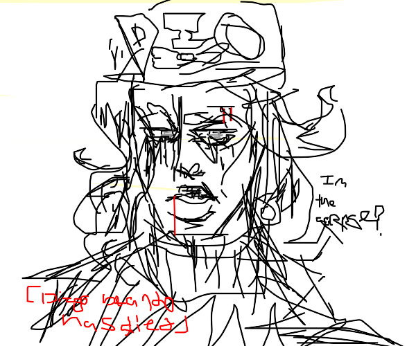 DIO is the corpse (SBR)