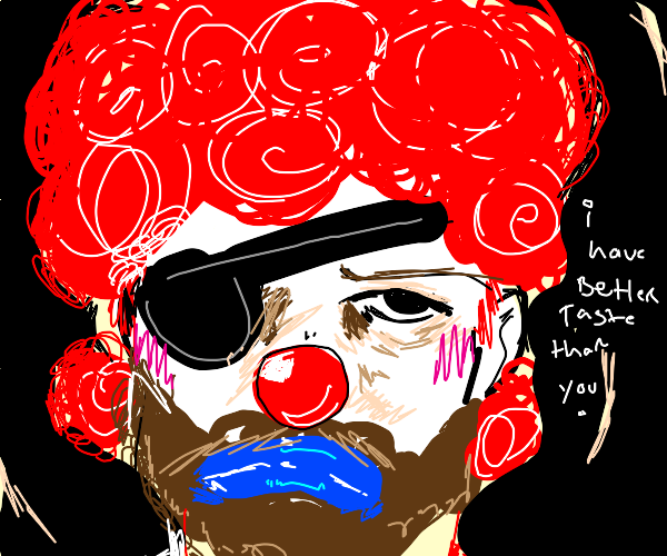 Hipster Pirate Lumberjack Clown
