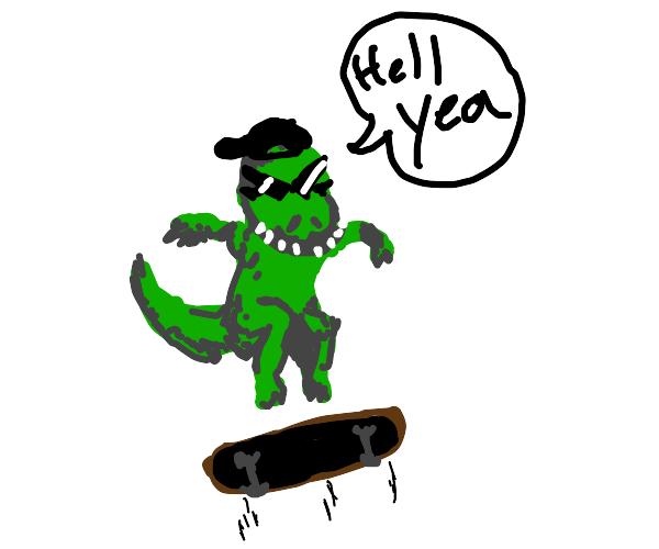 Sick Dinosaur