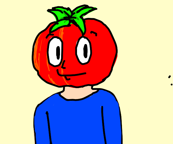 Tomato head guy thing