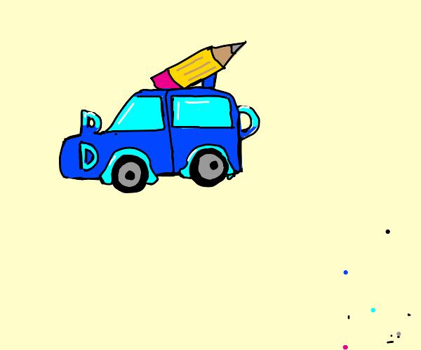 if drawception was a car