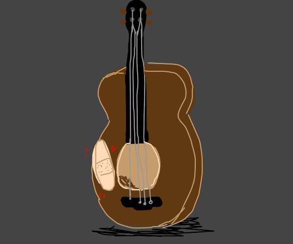 Injured Guitar