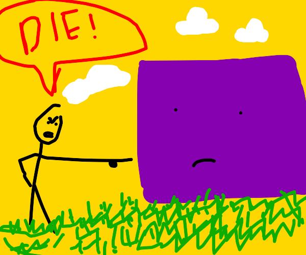die purple square
