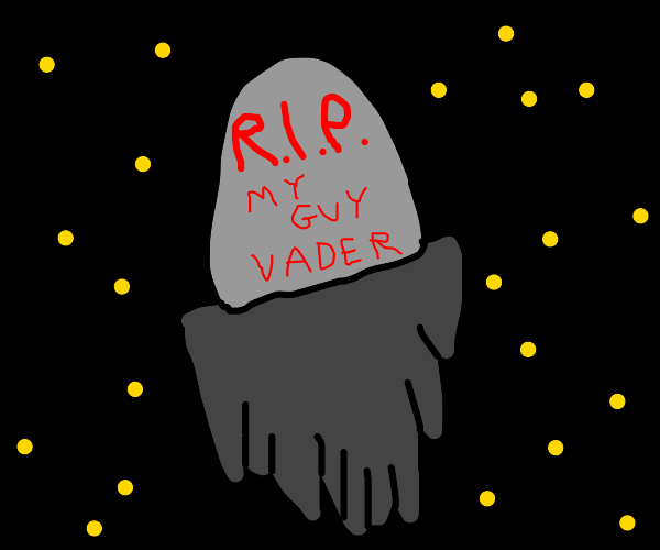 Darth vaders' grave