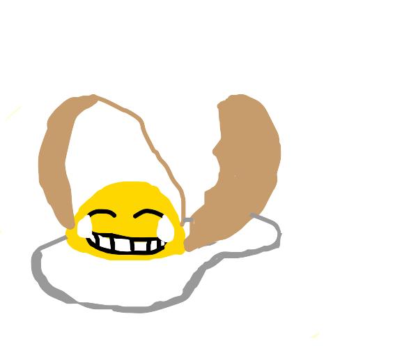 An egg-celent joke