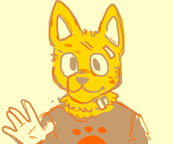 Yellow Furry