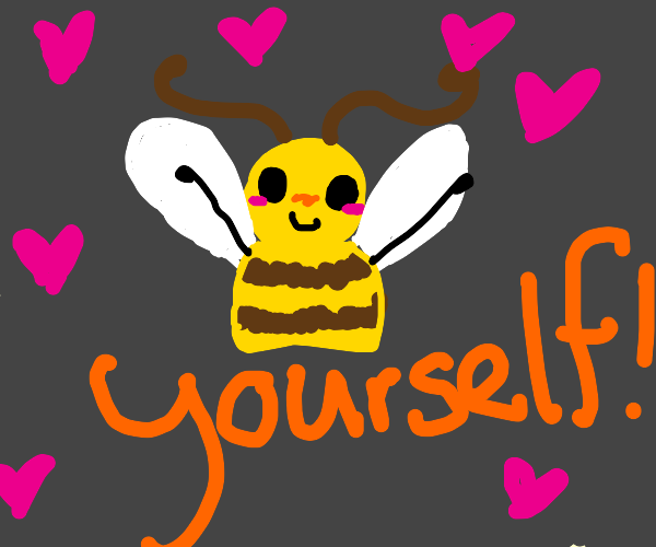 Empowering Bee message