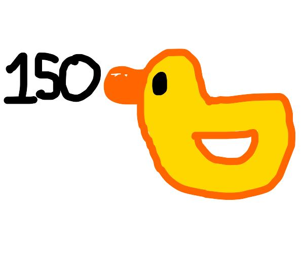 150 ducks