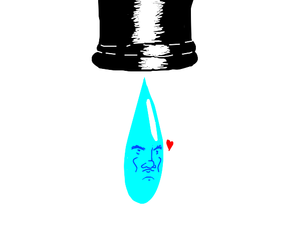 Cursed water droplet in love