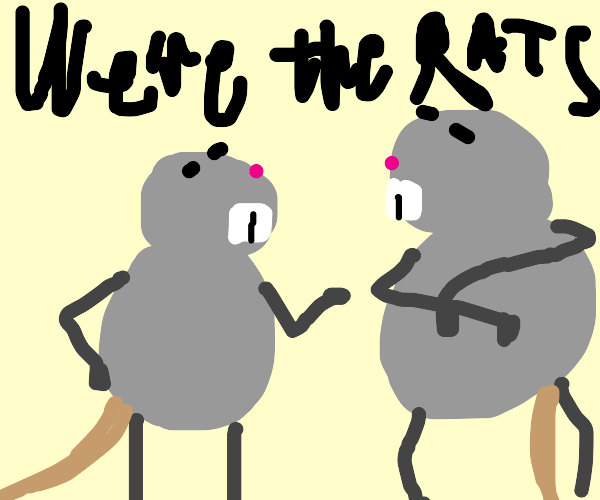 we're the rats