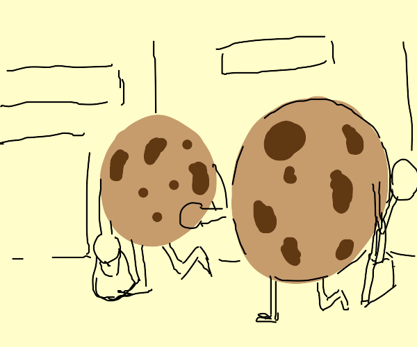 Cookies going shopping