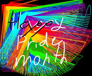happy pride month!! PIO (pass it on)