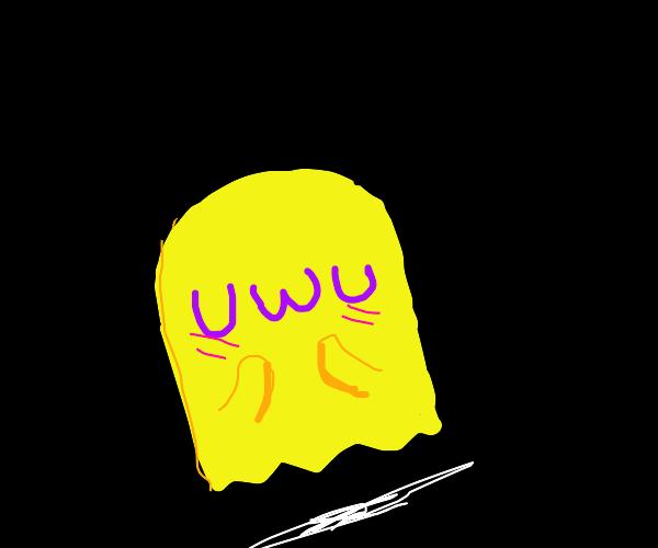 UwU blush blush Spooky Yellow Ghost