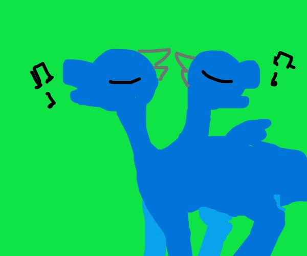 2 headed musical dragon