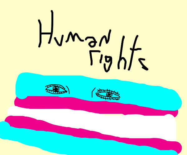 TRANS RIGHTS ARE HUMAN RIGHTS!!!