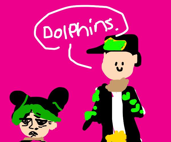 Jolyne annoyed by Jotaro