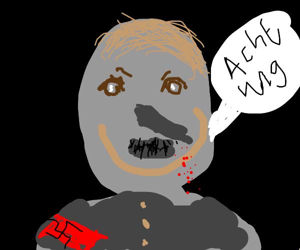 hitler but even creepier