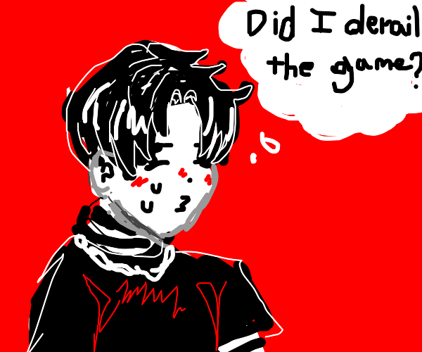 Eboy wonders if he derailed game w his panel