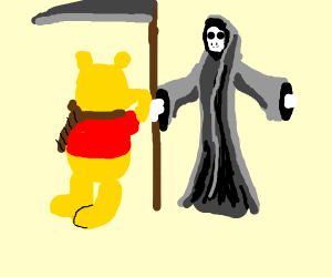 suicidal Winnie the Pooh pleads for death