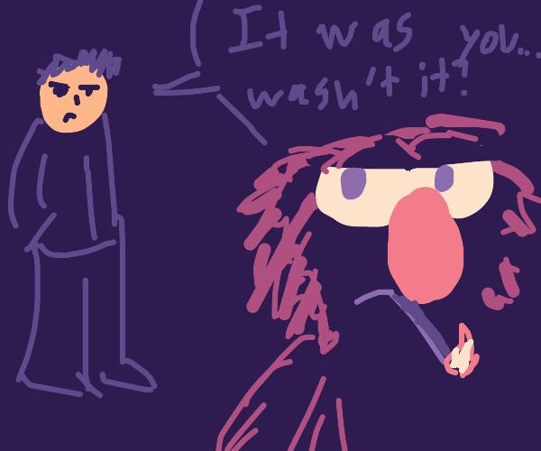 Elmo blames for genocide