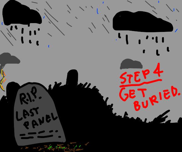 step 3: die