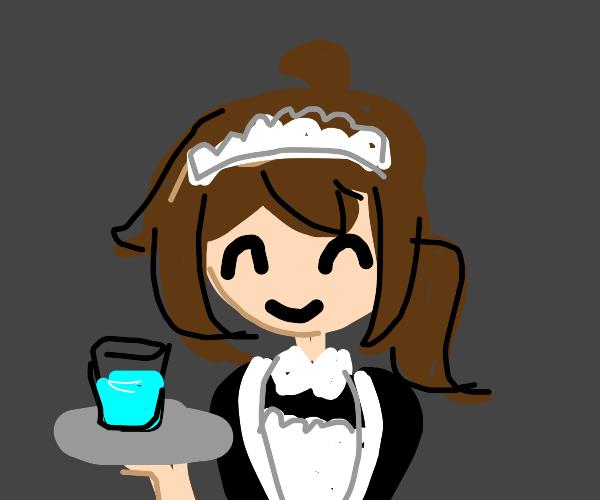 very cute lil maid